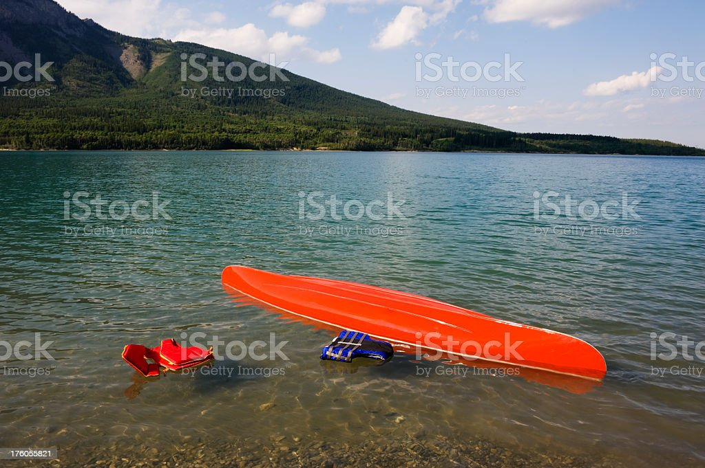 Boating Safety stock photo