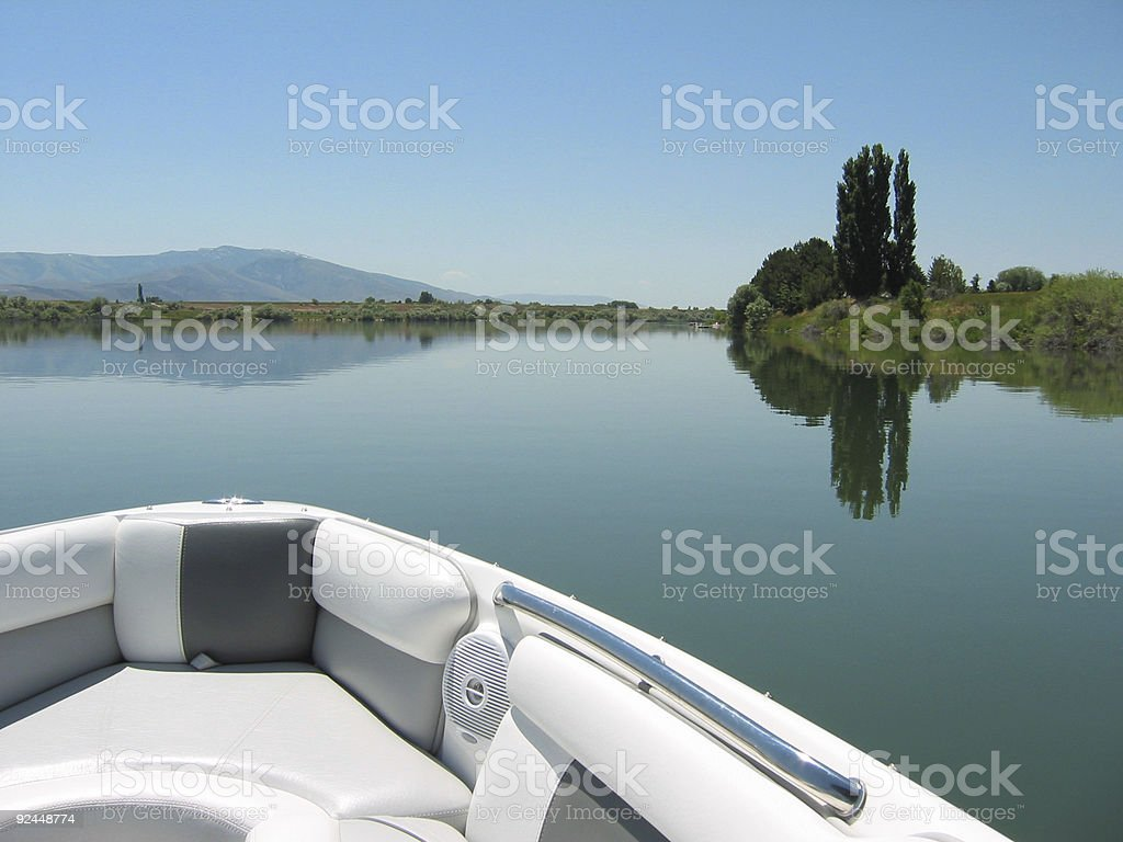Boating-Day stock photo