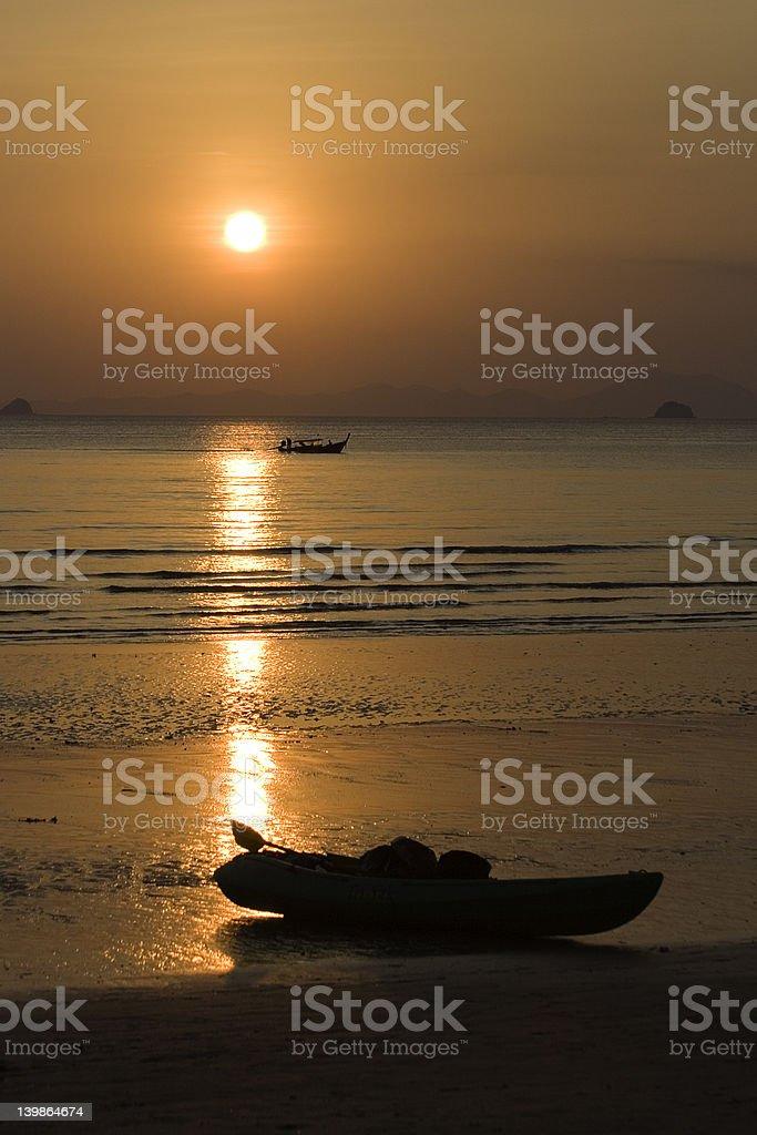 boatromantic royalty-free stock photo