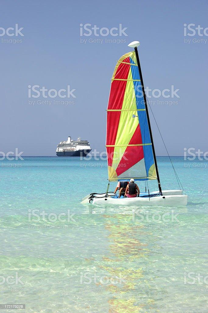 Boats Afloat 2 royalty-free stock photo
