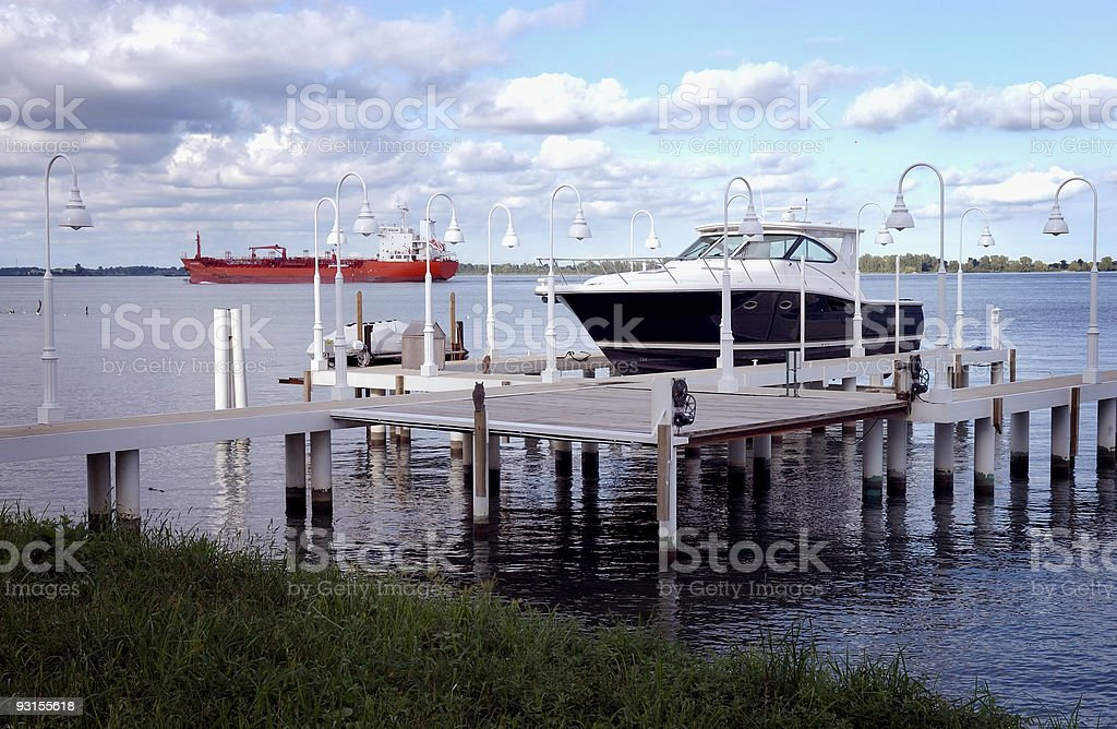 Boats and Ships royalty-free stock photo
