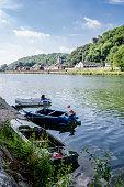 Boats at Dinant