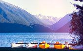 Boats at Lake Rotoiti