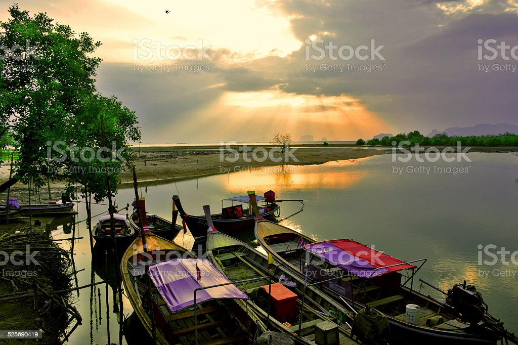 Boats at Rest royalty-free stock photo