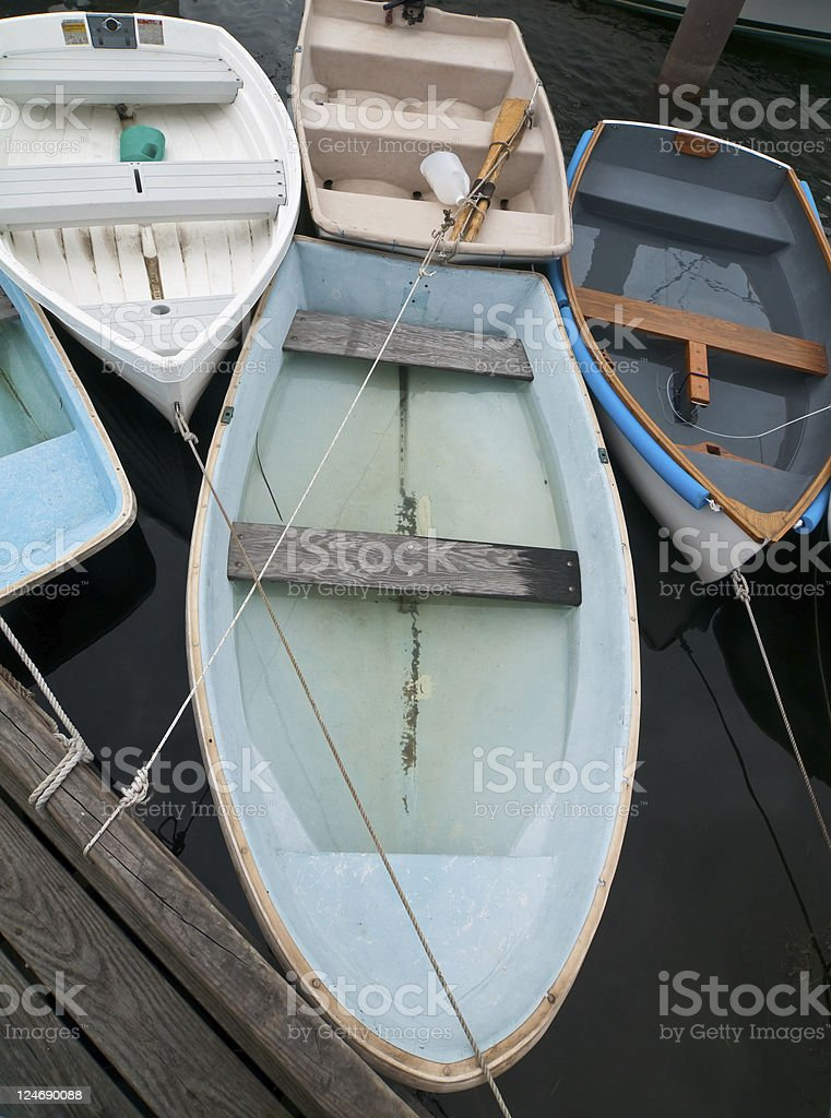 Boats at the Dock royalty-free stock photo