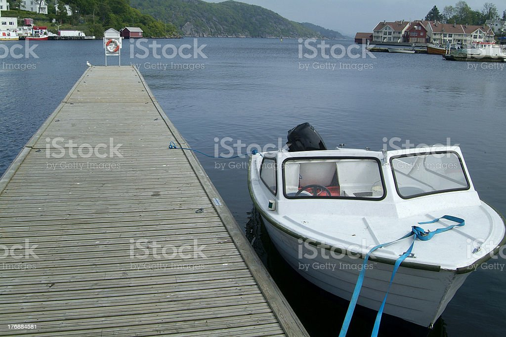 Boats at the harbour royalty-free stock photo