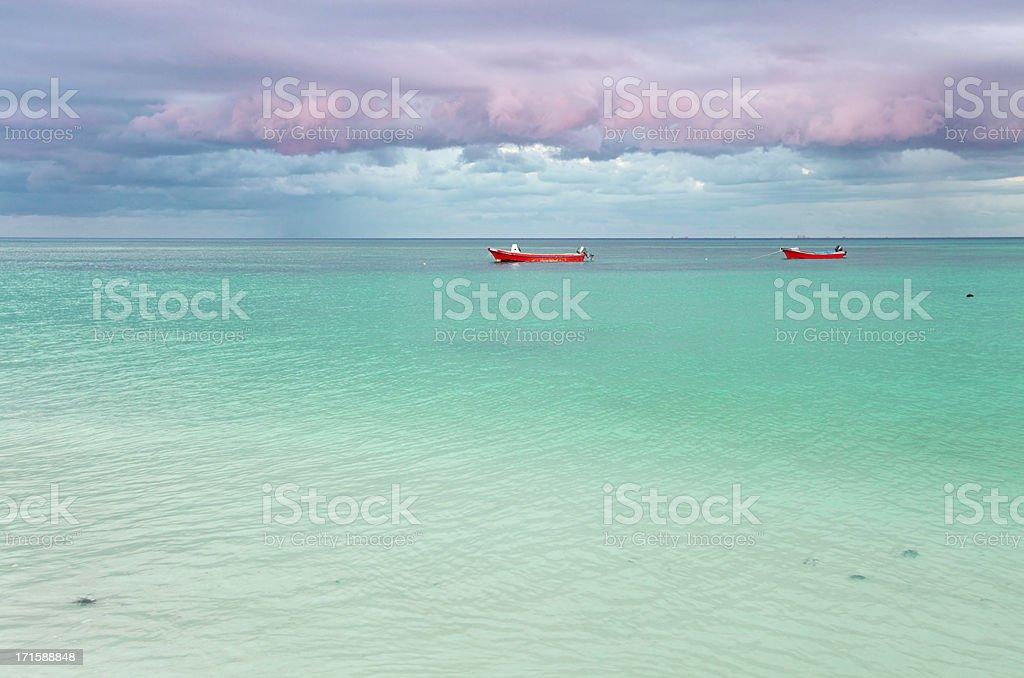 Boats, Mexico stock photo