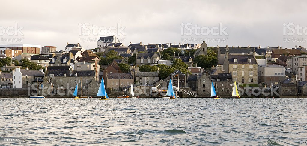 Boats Sailing royalty-free stock photo