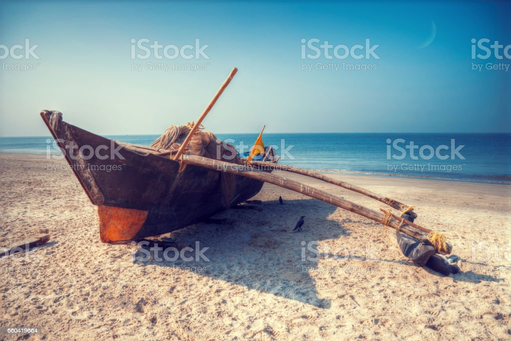 Boats swim stock photo