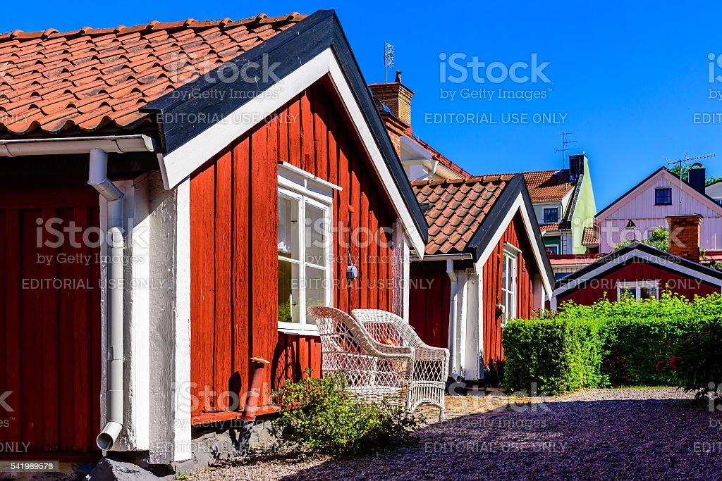 Boatswain cottage stock photo