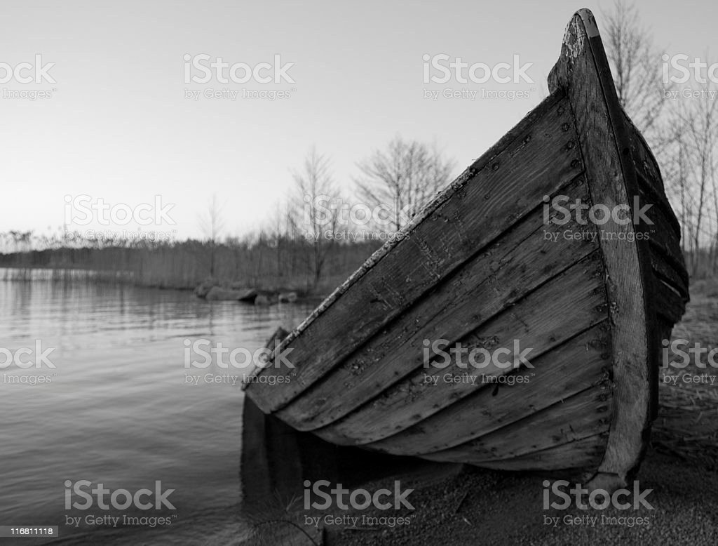 Boatwreckage royalty-free stock photo