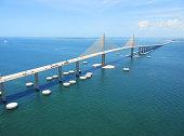Bob Graham Sunshine Skyway Bridge Tampa Bay Florida