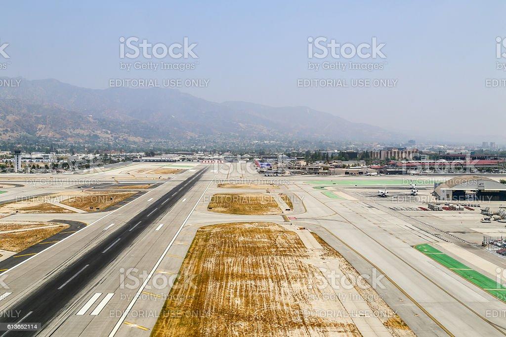 Bob Hope Airport stock photo