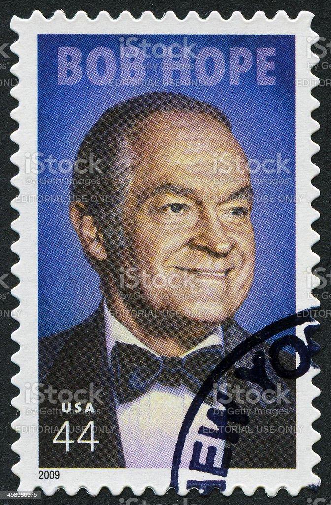 Bob Hope Stamp royalty-free stock photo