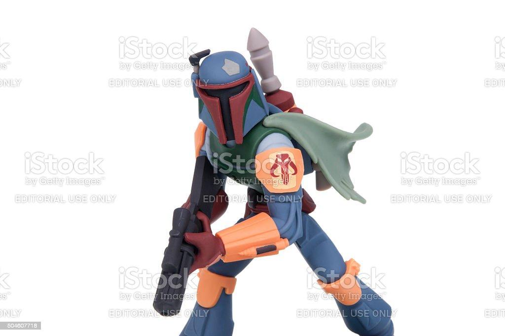 Boba Fett Disney Infinity 3.0 Figurine stock photo