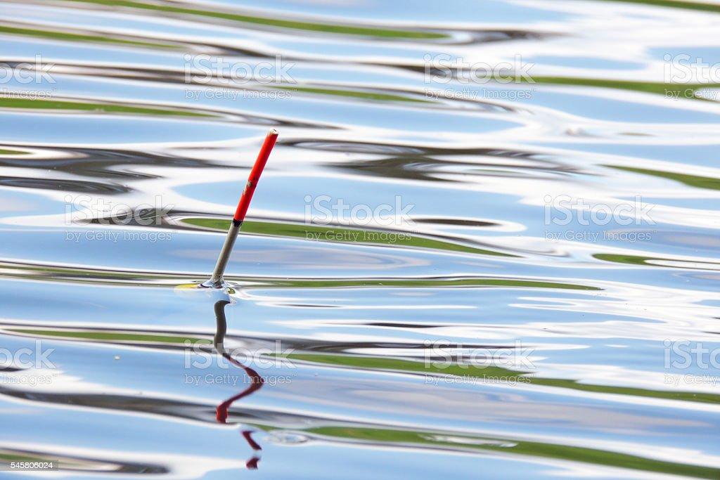 Bobber for fishing stock photo