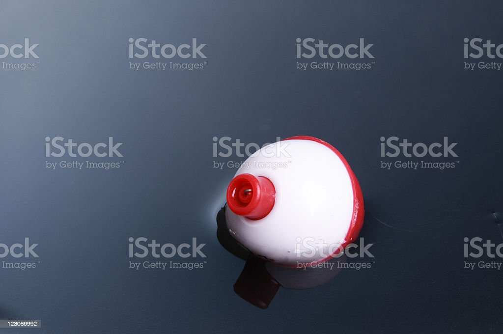 Bobber on Water royalty-free stock photo