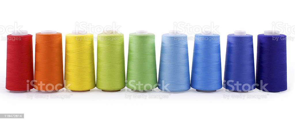 bobbins stock photo