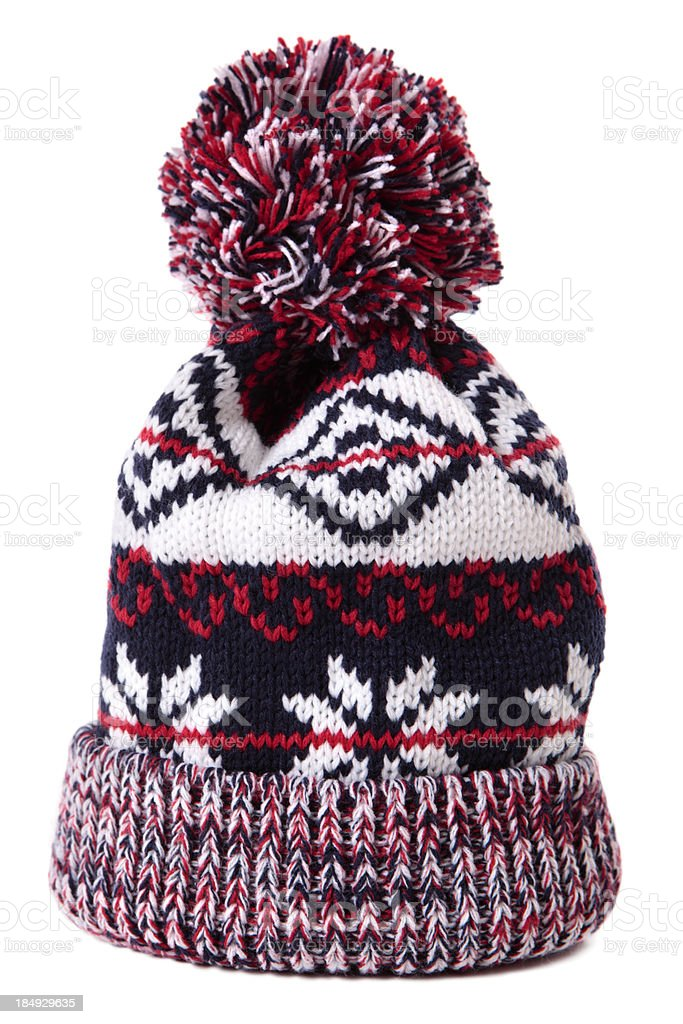 Bobble hat stock photo
