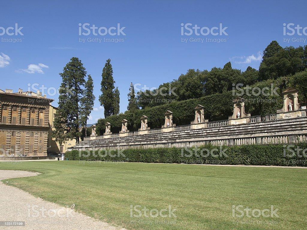 Boboli Gardens Amphitheatre stock photo