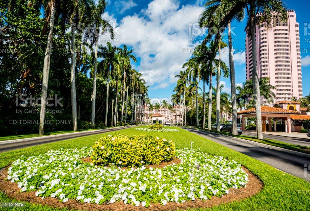 Boca Raton Resort and club, Florida, USA stock photo
