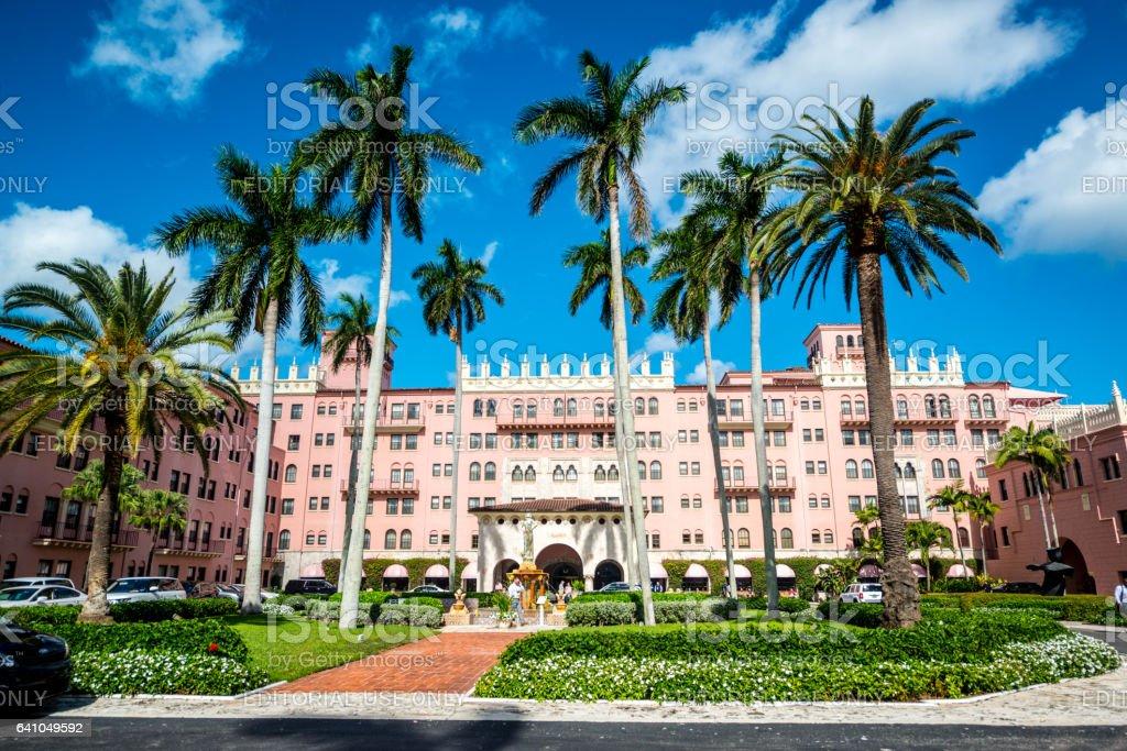 Boca Raton Resort and Club, USA stock photo