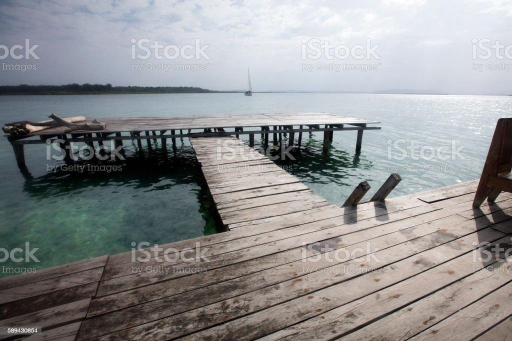 Bocas del Toro, Panama. stock photo