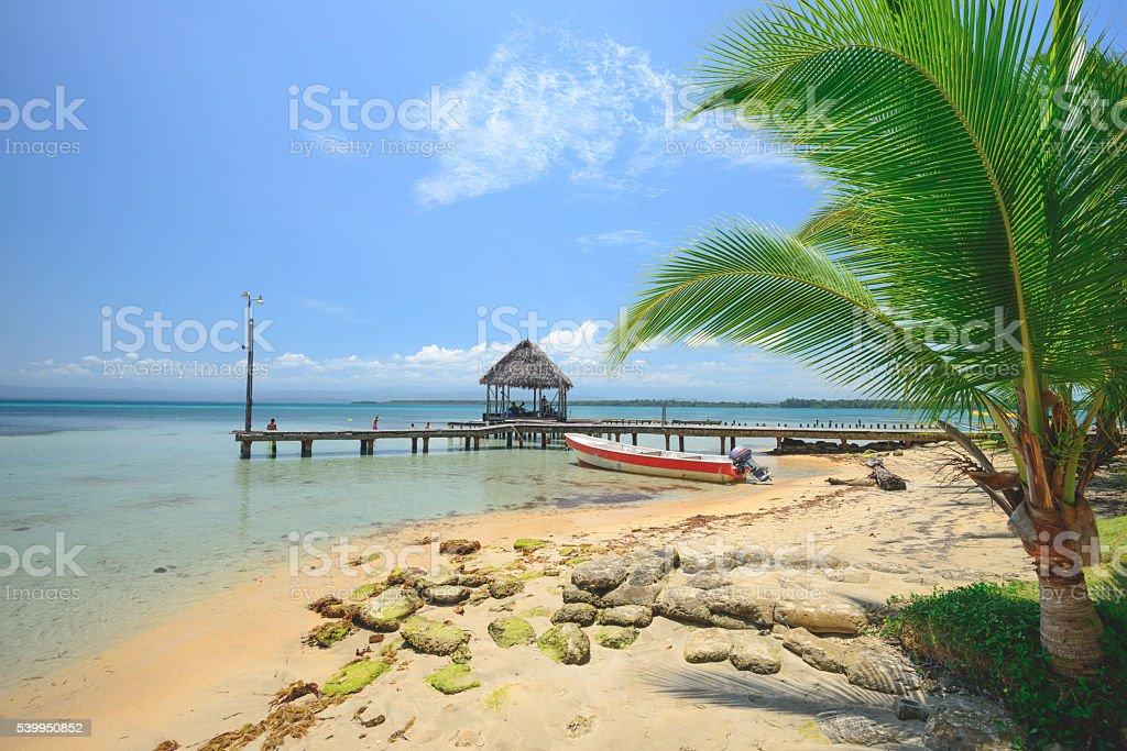 Bocas Island stock photo