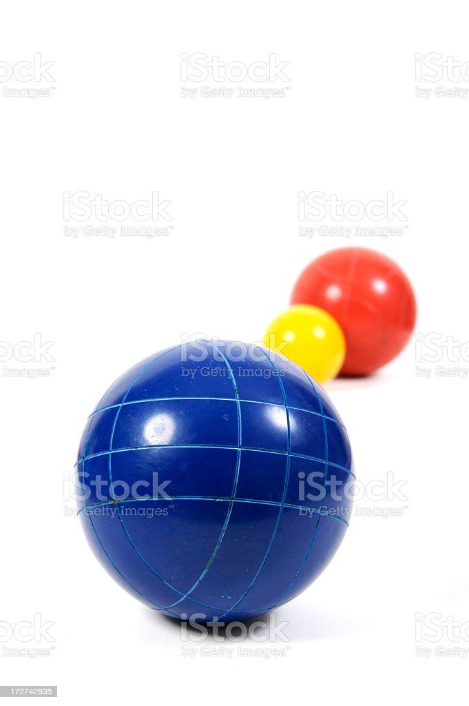 Bocce Balls royalty-free stock photo