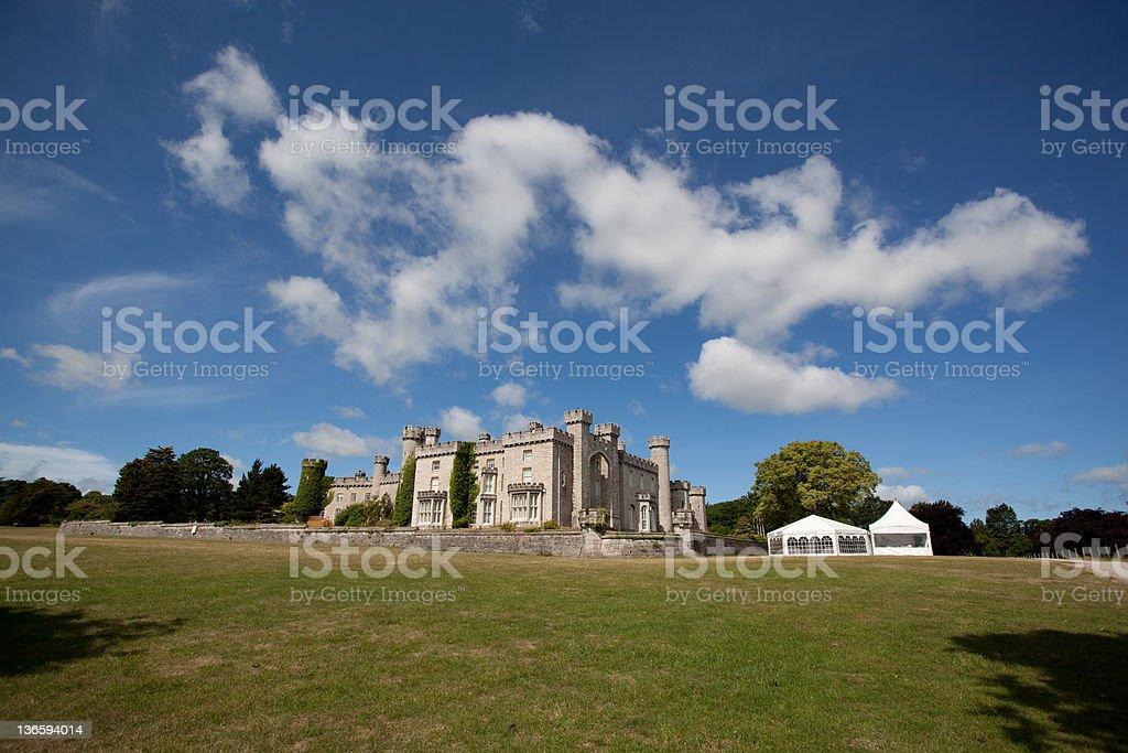 Bodelwyddan 城と敷地 ロイヤリティフリーストックフォト