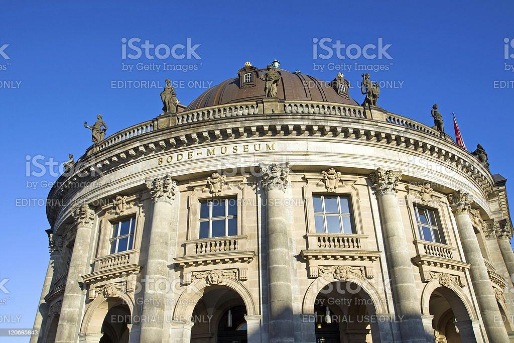 Bodemuseum in Berlin royalty-free stock photo