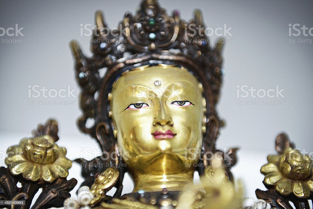 Bodhisattva Statue stock photo