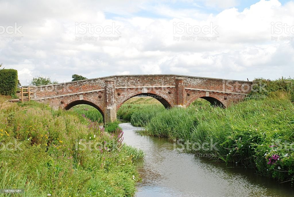 Bodiam bridge, England royalty-free stock photo