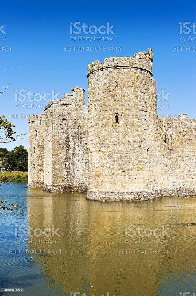 Bodiam Castle stock photo