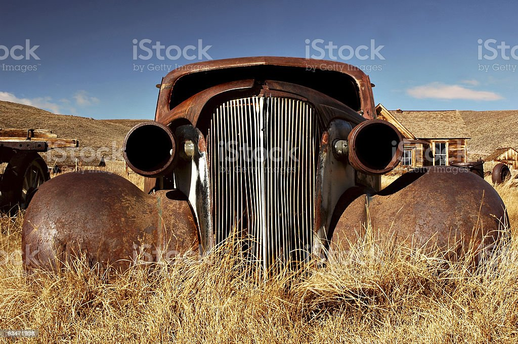 Bodie Car stock photo