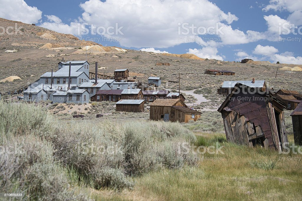 Bodie Ghost town old mining village california america stock photo
