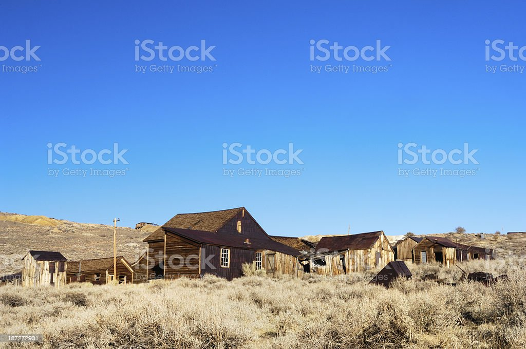 Bodie Ghost Town stock photo
