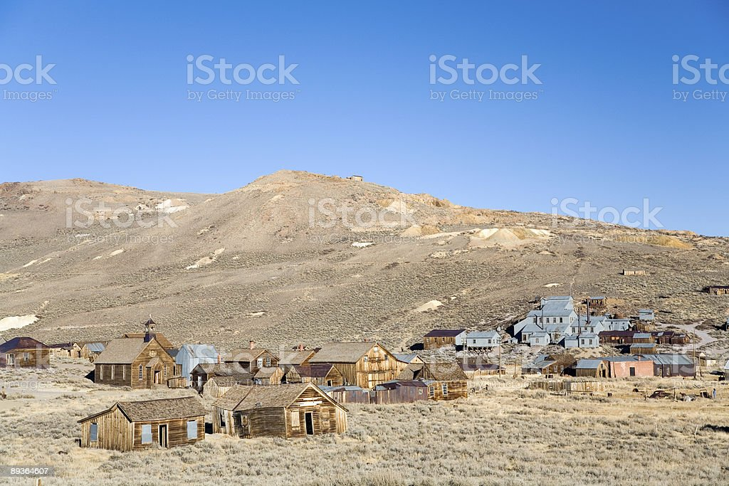 Bodie ghost town royalty-free stock photo