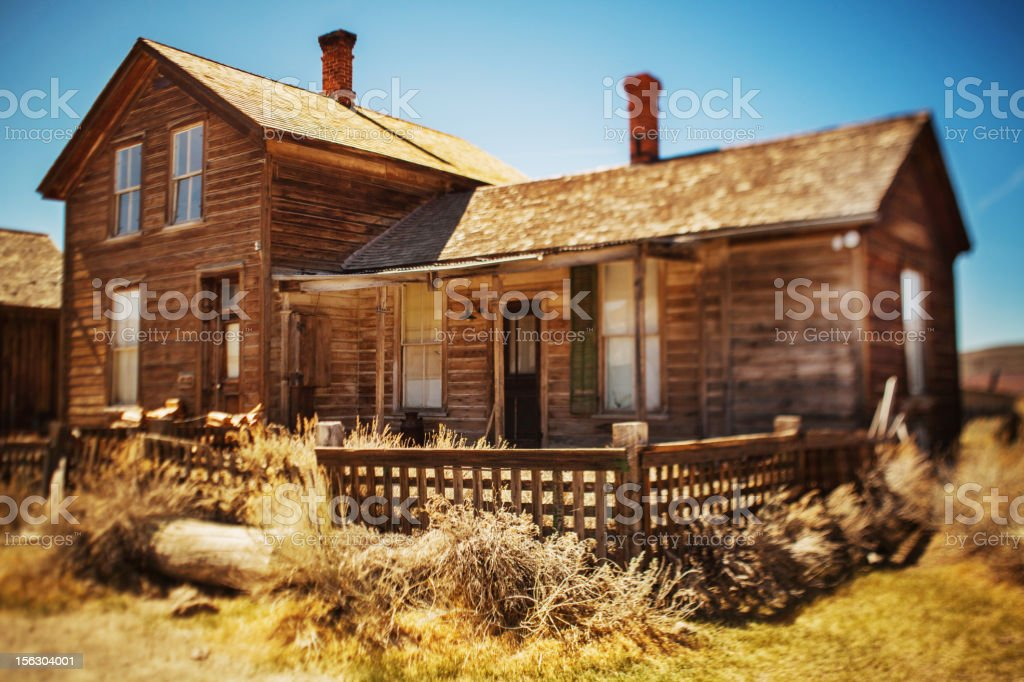 Bodie house royalty-free stock photo