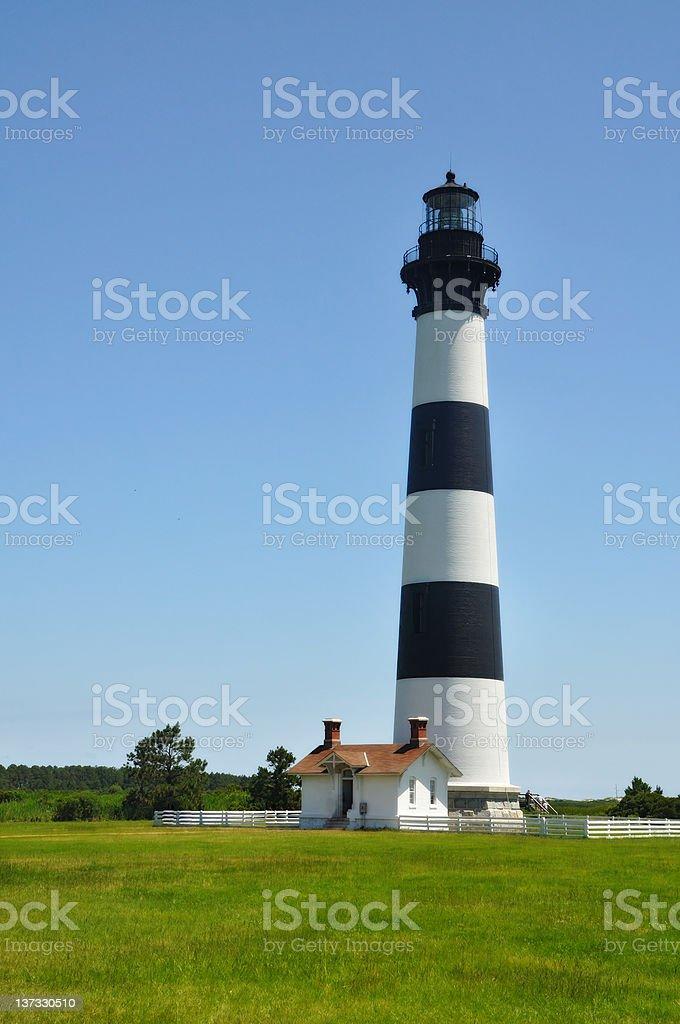 Bodie Island Lighthouse stock photo