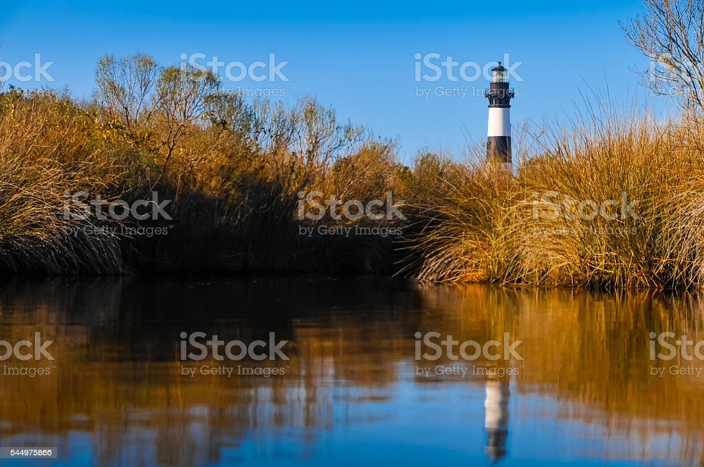 Bodie Reflection stock photo