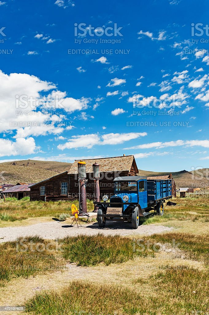 Bodie Sights stock photo