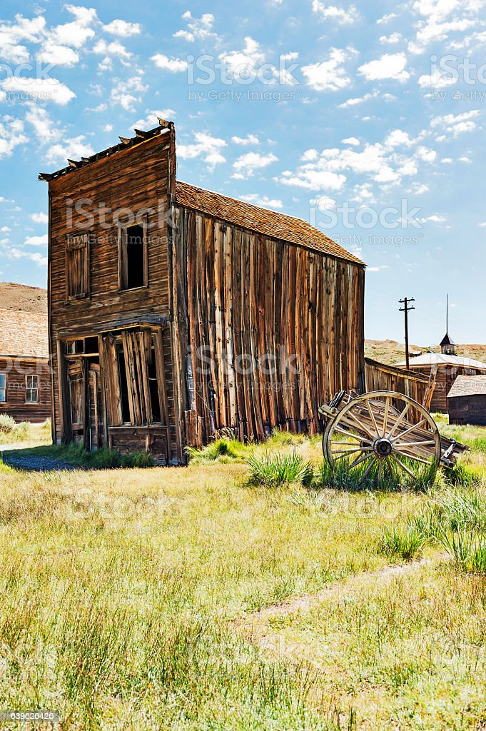 Bodie State Historic Park stock photo