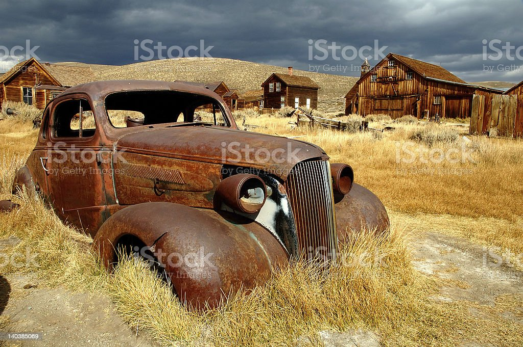 Bodie State Park stock photo
