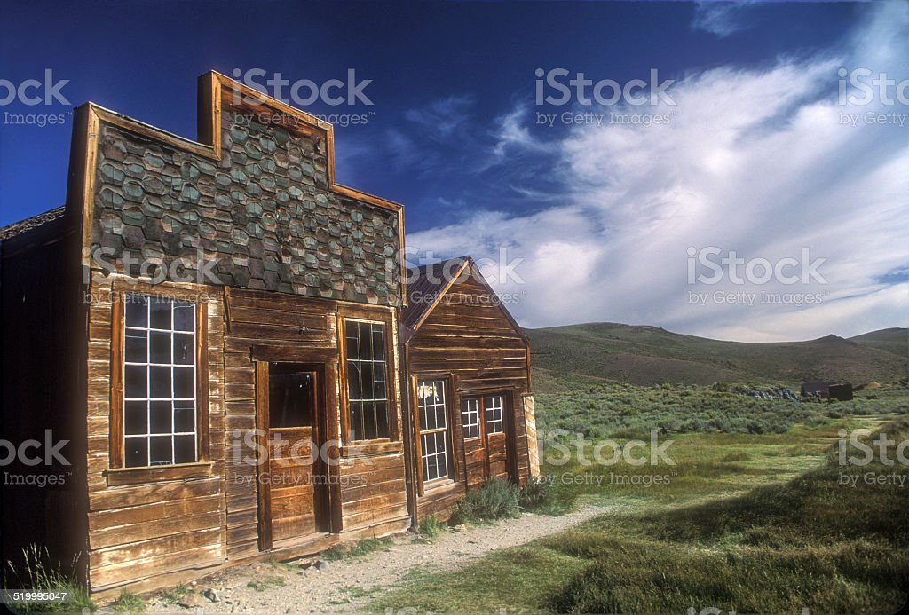 Bodie Street stock photo
