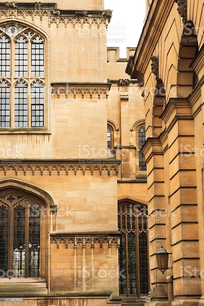 Bodleian Library royalty-free stock photo
