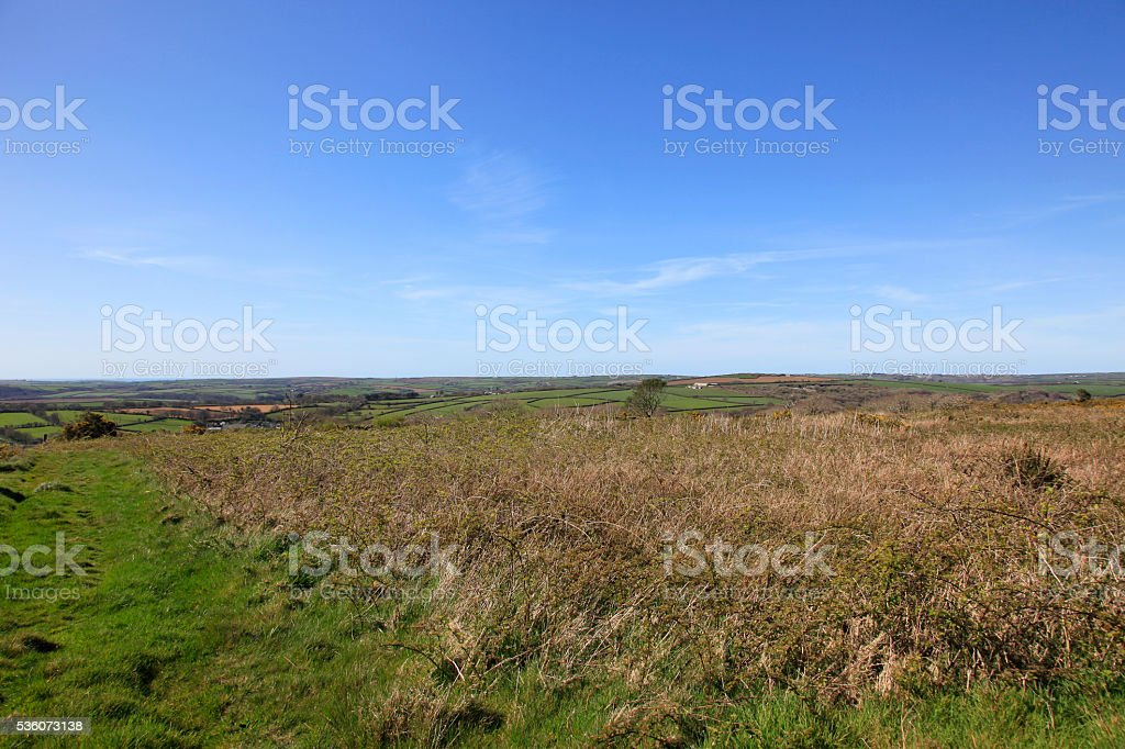 Bodmin Moor Cornwall stock photo