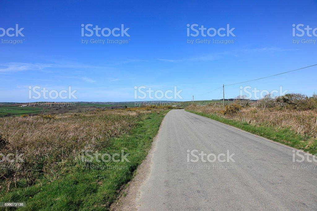 Bodmin Moor England stock photo