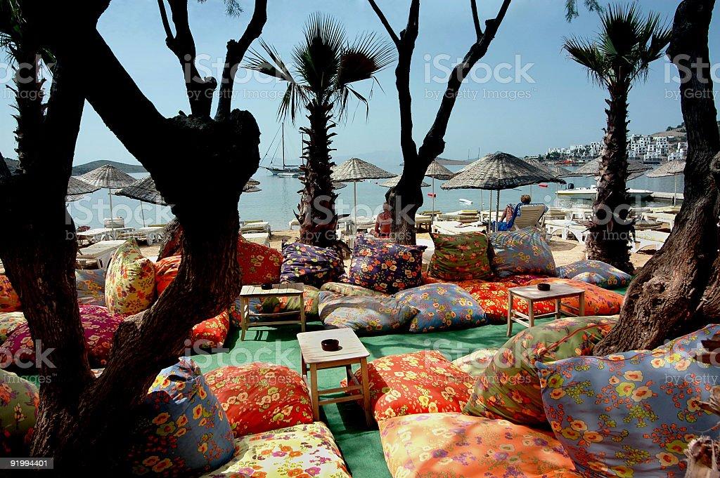 Bodrum Beach stock photo