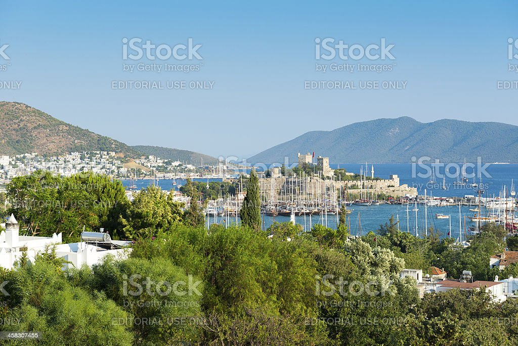 Bodrum Castle royalty-free stock photo